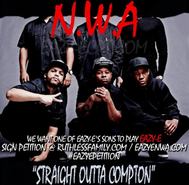 Eazy-E Petition.  NWA MOVIE