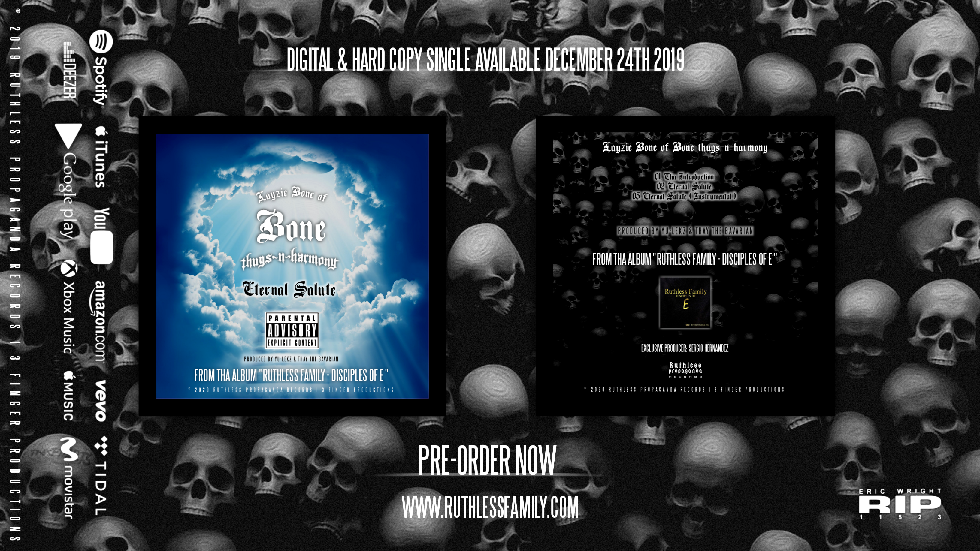 Layzie Bone - Eternal Salute - Single ( Promo Ads 1 )